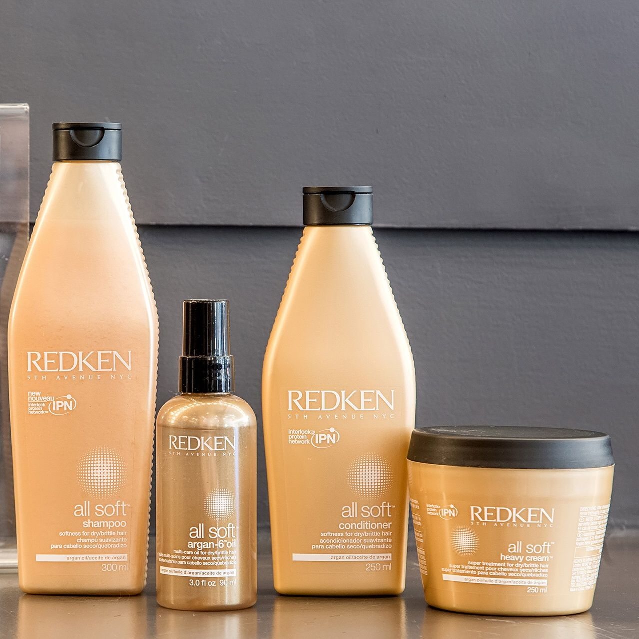 Hair Product Review Redken All Soft Live True London