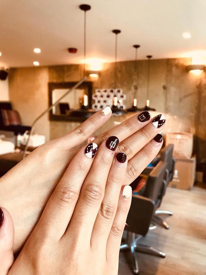 nail art manicure at Live True London Vauxhall