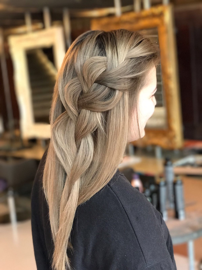 Soft Braid at the Vauxhall salon