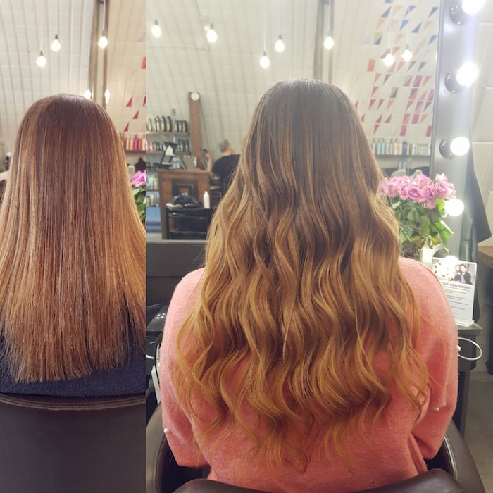Clapham hair extensions for length at Clapham hair salon in London
