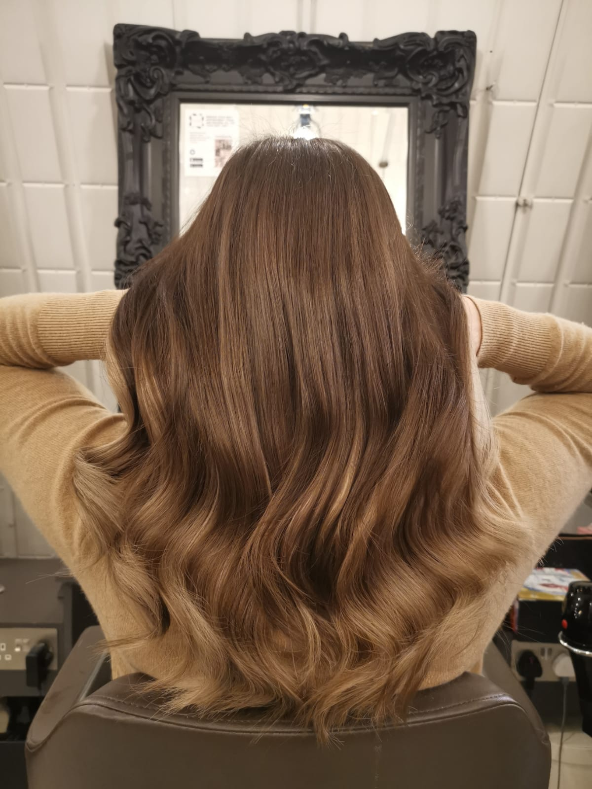 Clapham hair extensions for length and volume at London salon
