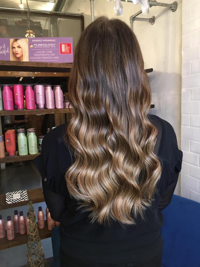 Hair extensions in Brixton salon