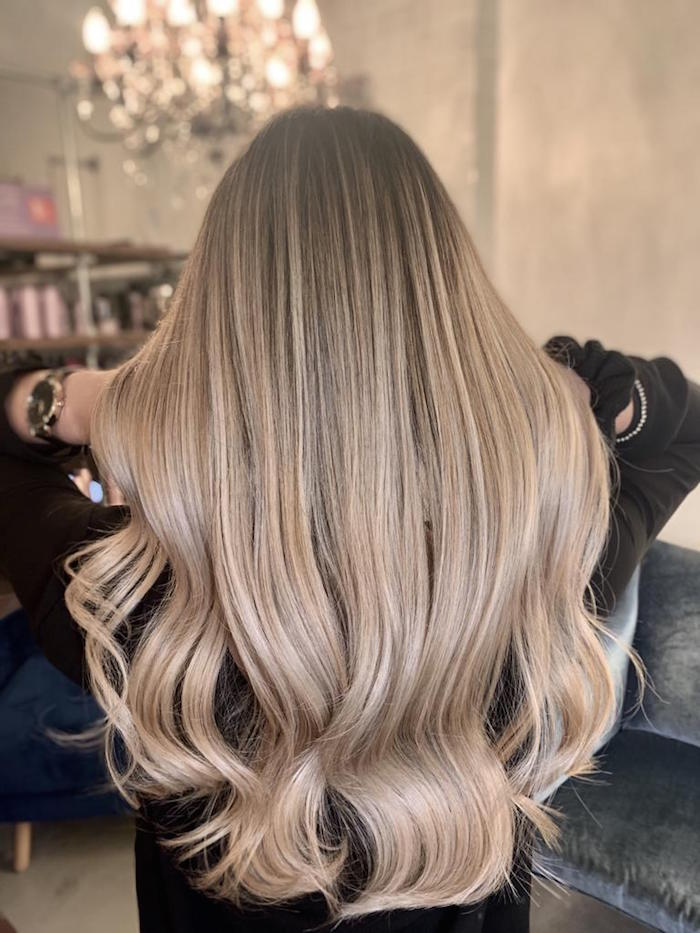 Balayage at the Brixton hair salon in London Mother's Day idea