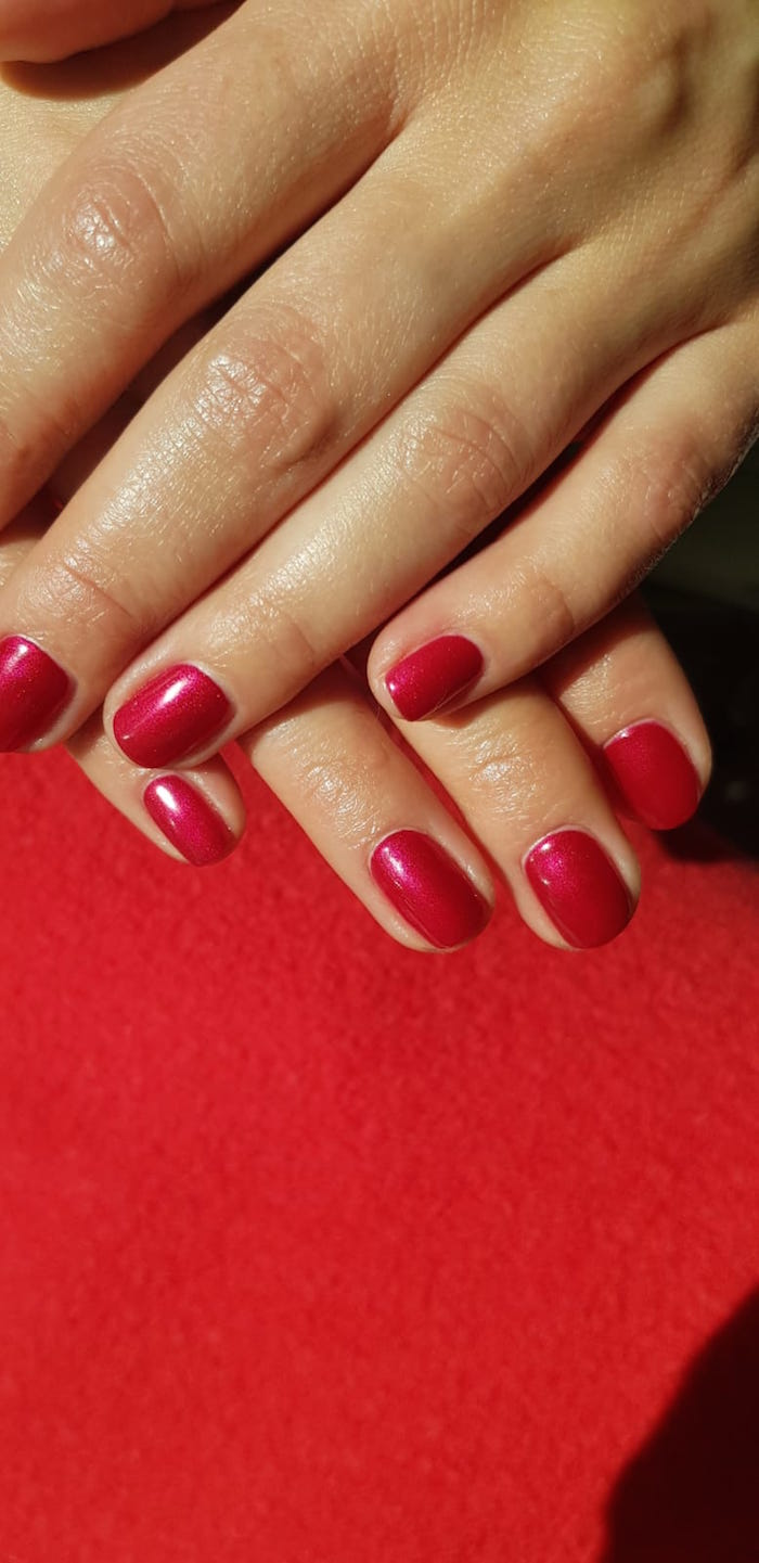 Vegan manicure at the Vauxhall and Nine Elms salon in London