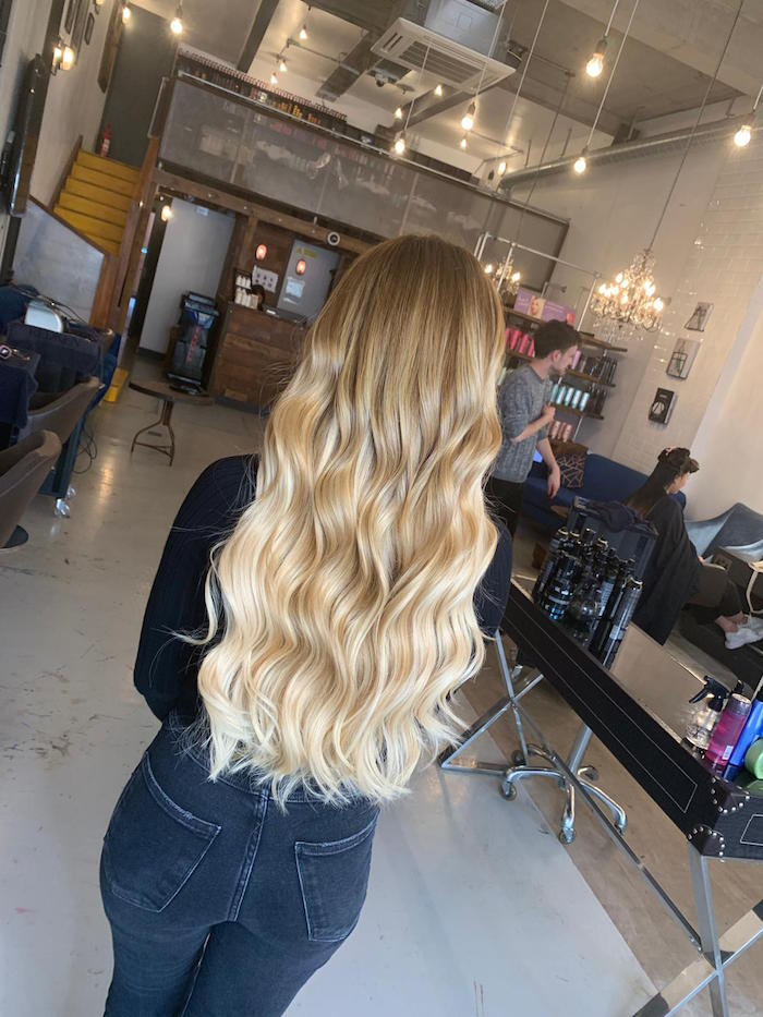Hair extensions in London salon in Brixton