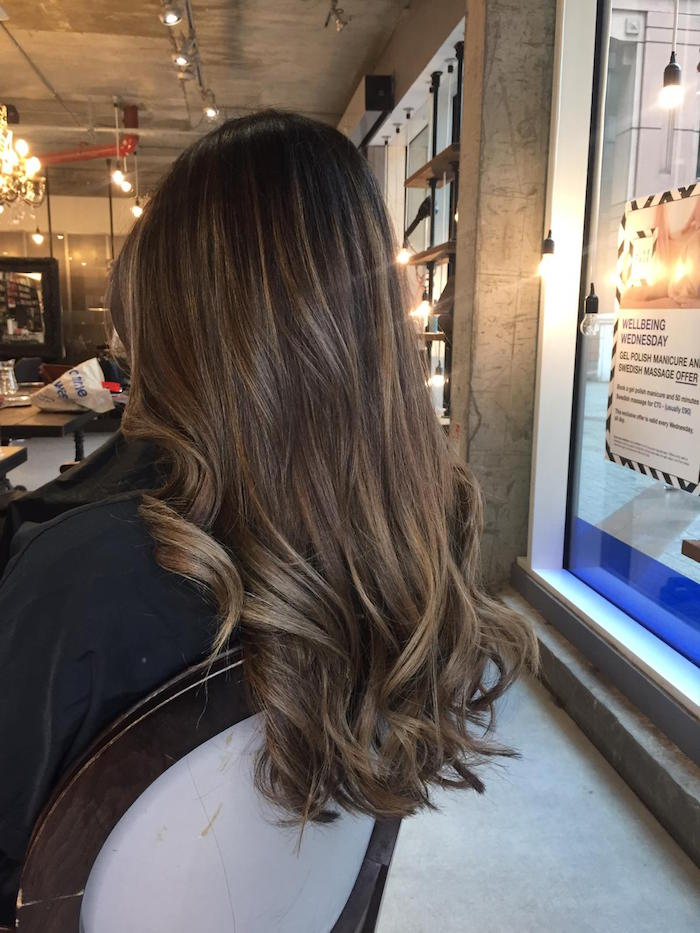 London balayage in salon in Vauxhall and Nine Elms
