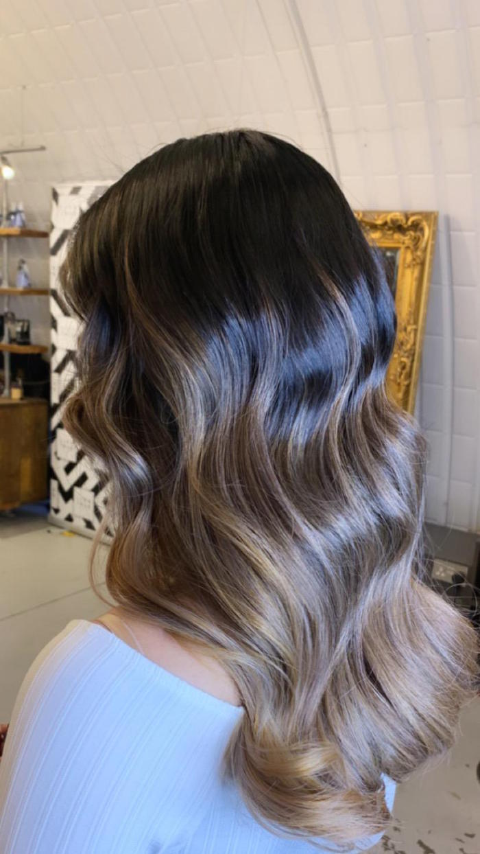 Balayage in London in Clapham hair salon - specialist colour salon