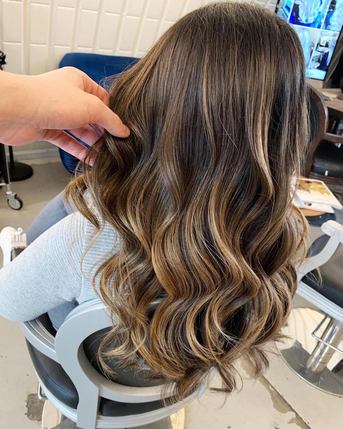 sun-kissed balayage at Top London Salon in Clapham