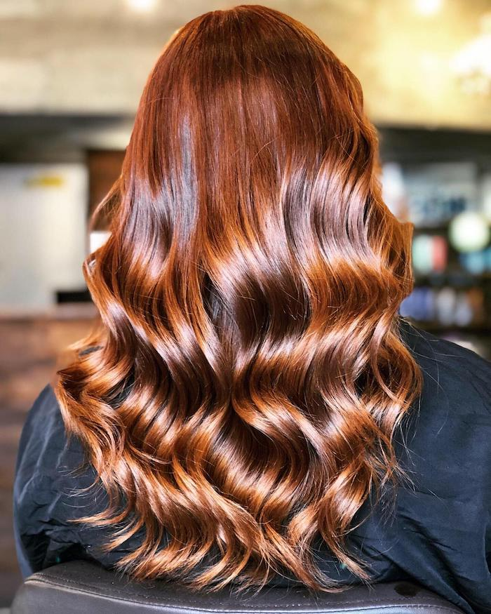 brown hair balayage at the Vauxhall and Nine Elms salon in London
