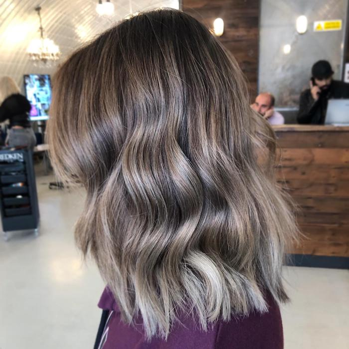mushroom blonde hair at Clapham hair salon in London