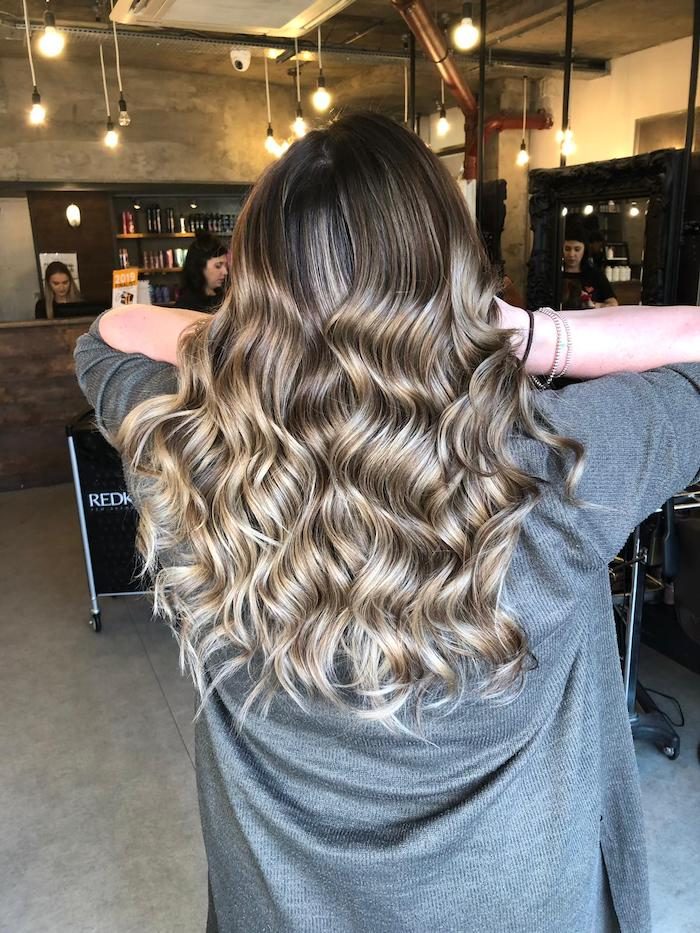 Balayage in London hair salon in Vauxhall and Nine Elms