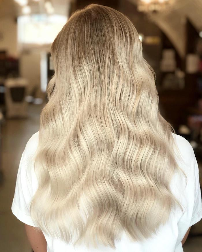 Blonde balayage at the Clapham hair salon in London