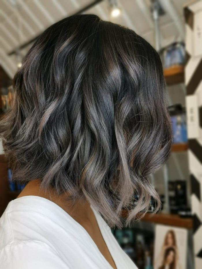 Brunette balayage in the Clapham hair salon in London