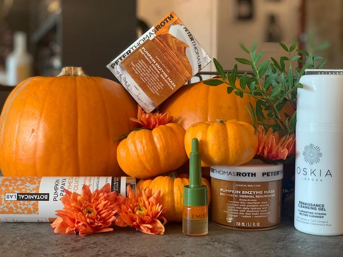 Pumpkin spice facial at our London salon in Nine Elms Vauxhall