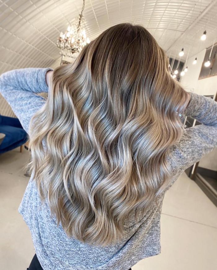 balayage hair in clapham salon London