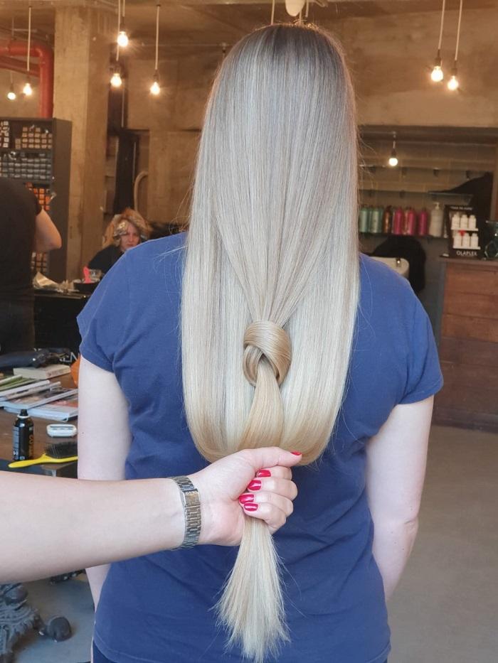 healthy diet creates healthy hair at Vauxhall