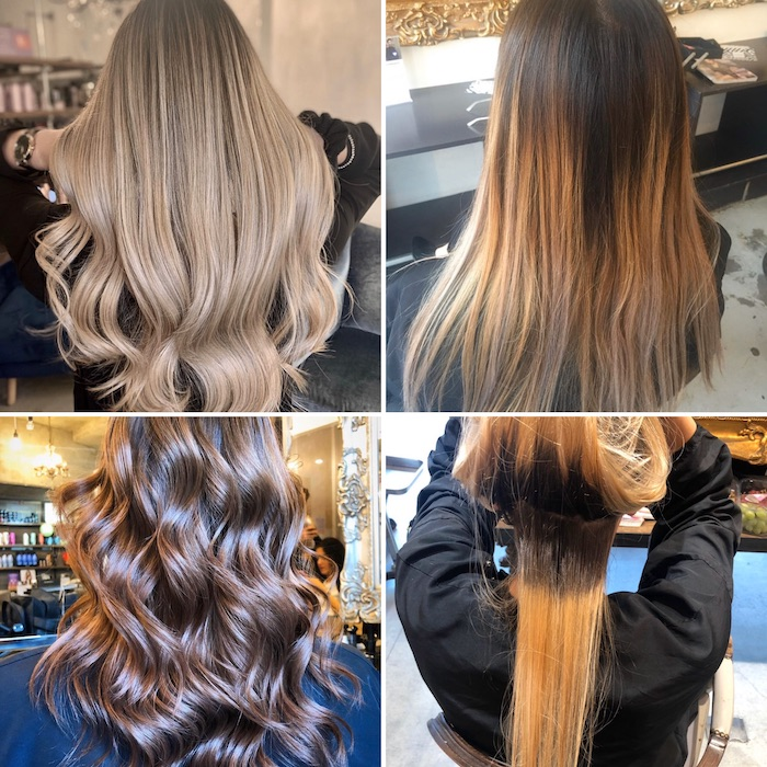 colour correction in London salon