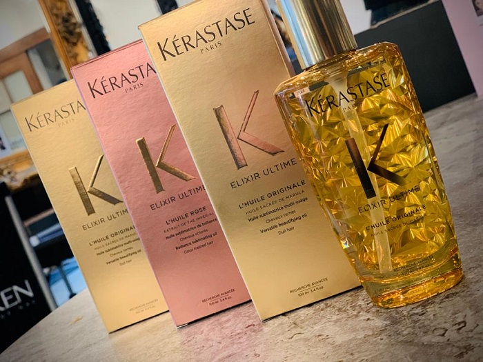 kerastase ultime oils at nine elms london