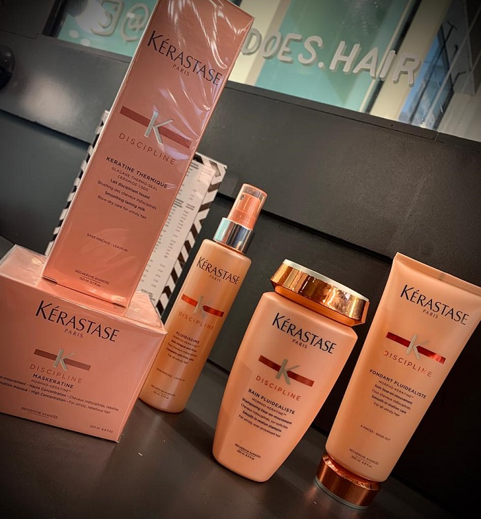 discipline your hair with kerastase london
