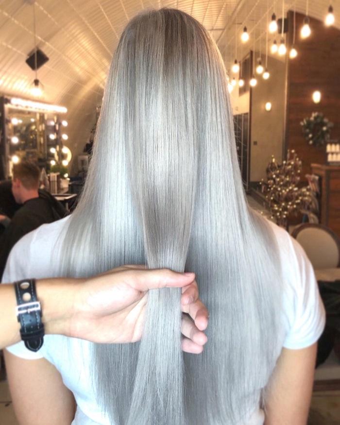 healthy hair at the Clapham salon