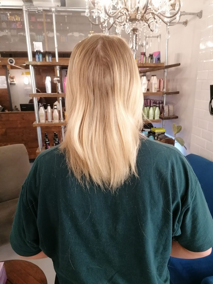 before the colour and the extensions