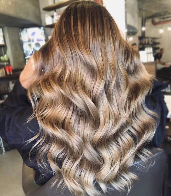 honey and beige are great balayage colours at live true london