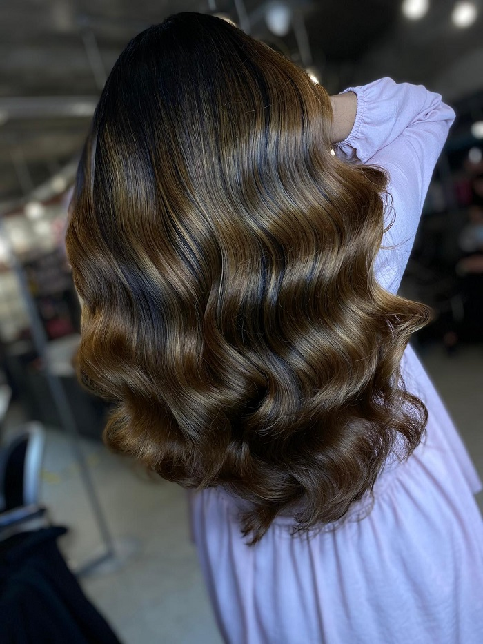 deep brown colour for the winter 2020