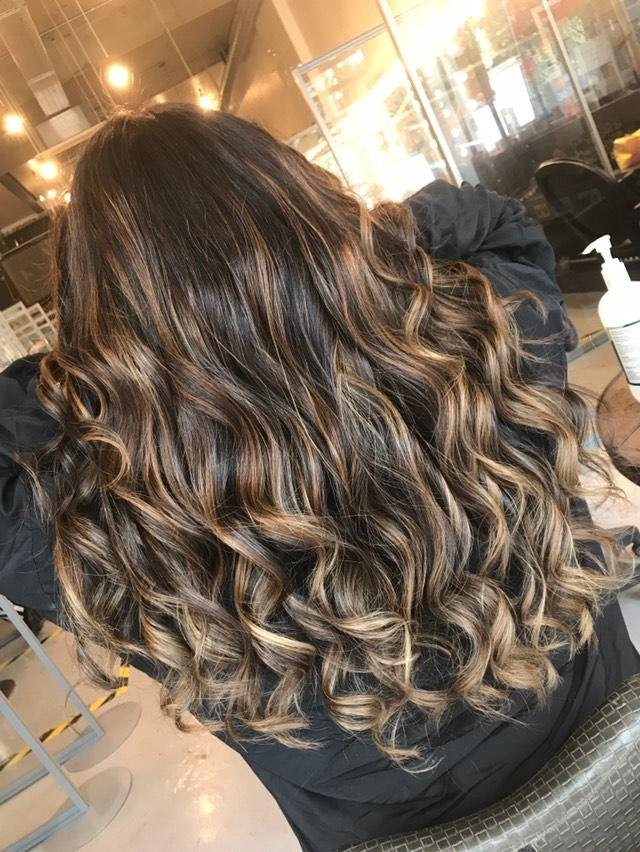 curly hair at our brixton salon