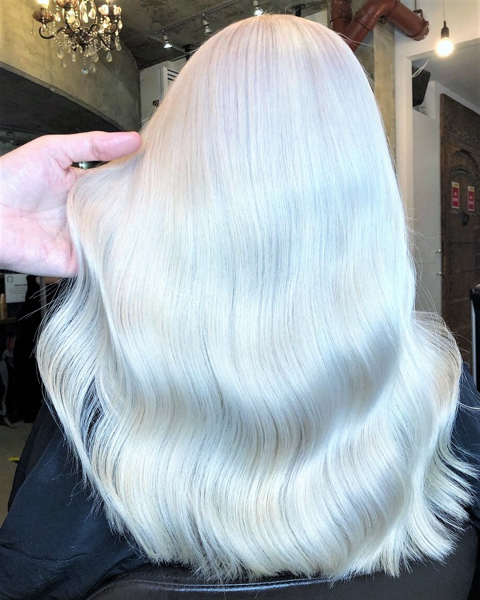 forsted hair colour for icy result at live true london