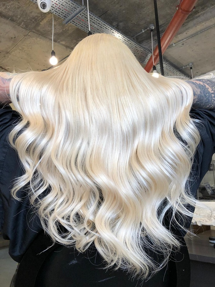 tape extensions are perfect at the vauxhall and nine elms salon