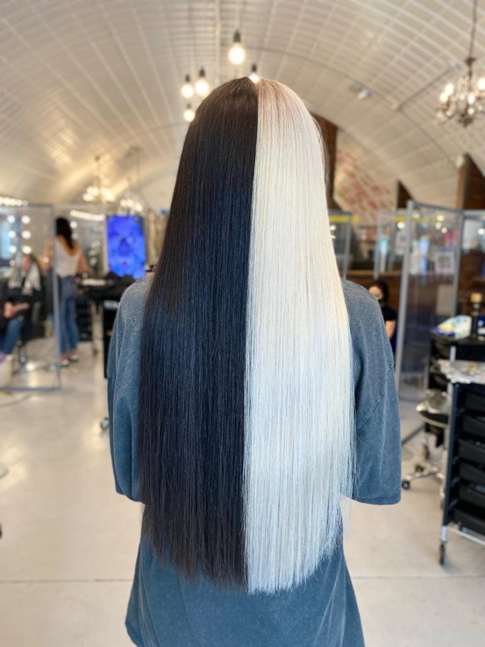 cruella hair colour at live true london clapham north