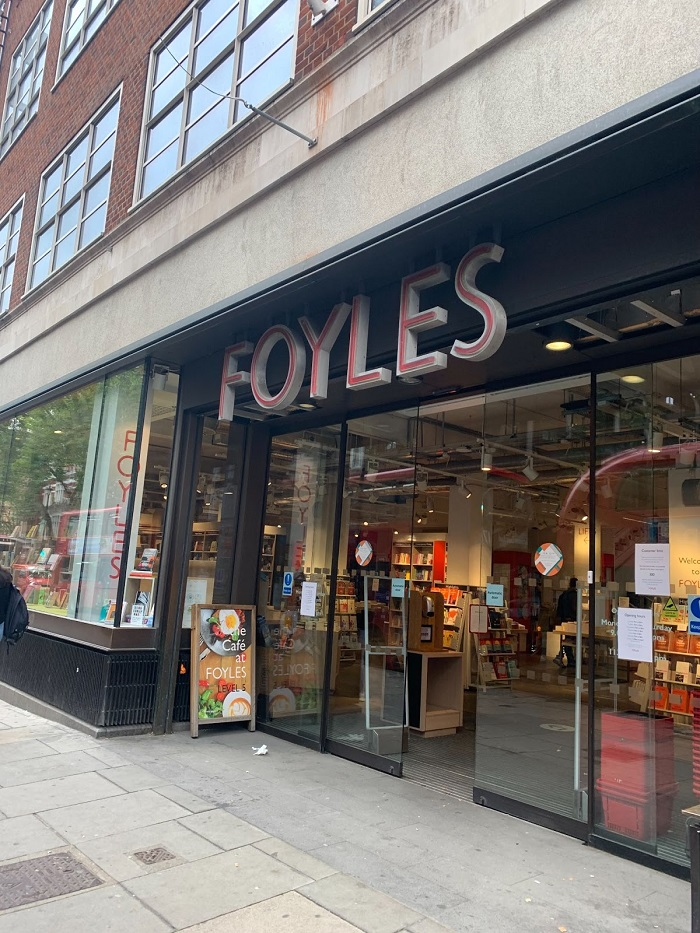 foyles cafe in soho for the best experience