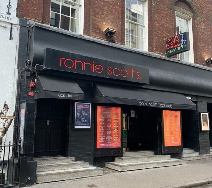 ronnie scott's at soho for jazz music